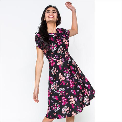 Ladies Printed Fancy Dress