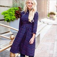 Ladies Designer Printed Dress
