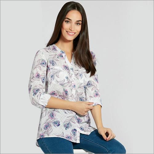 Ladies Maiden Collar Shirt