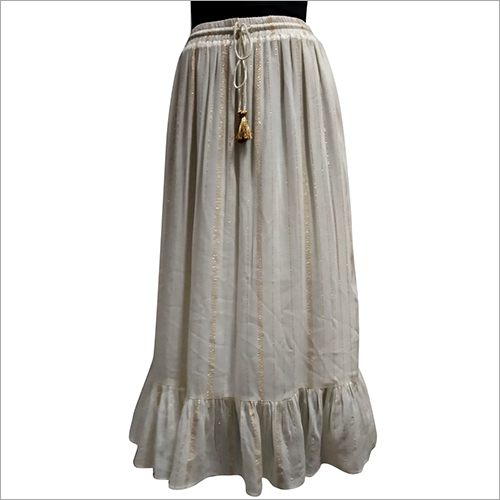 Ladies Desinger Long Skirt
