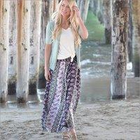 Ladies Long Fashionable Skirt