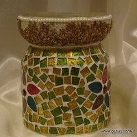 Glass Container Square Container Round Jar