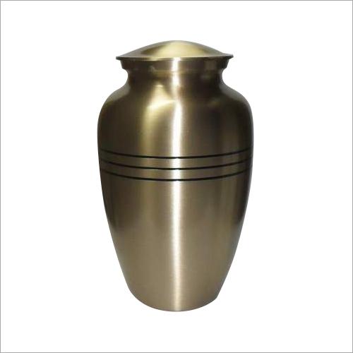 Brass Finish Metal Urns