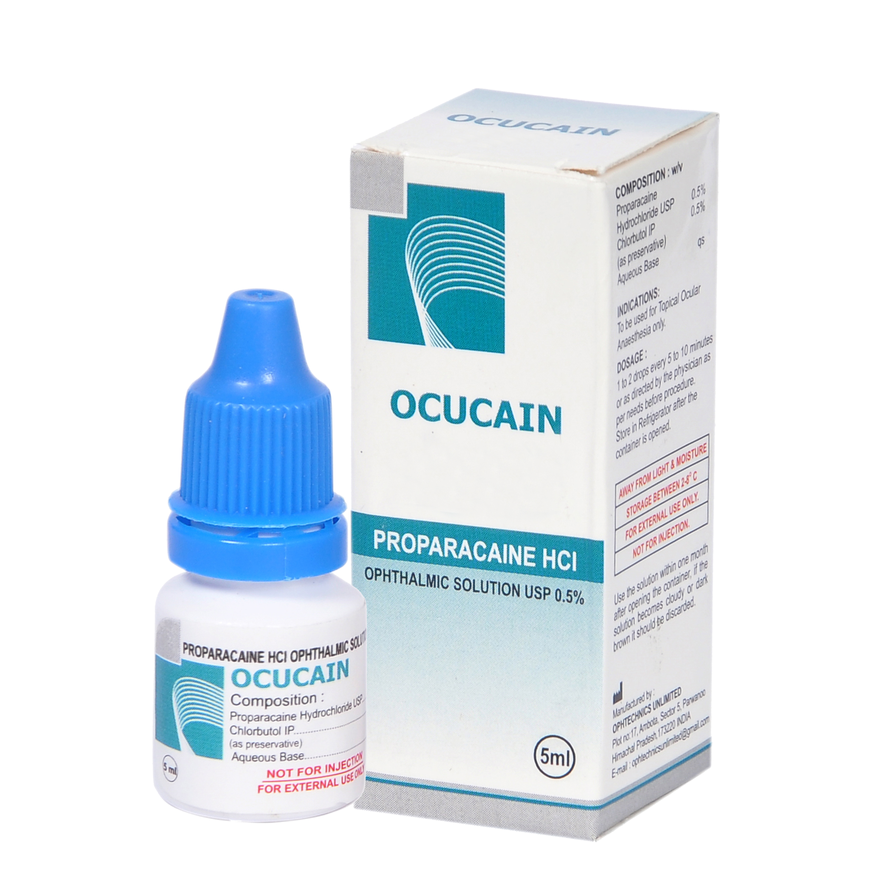 Proparacain Hcl Ophthalmic Solution