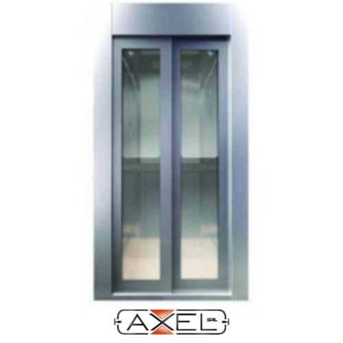 Home Lift MRL MS Full Vision Auto Door.