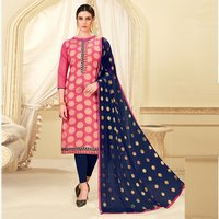 Latest Designer Banarasi Silk Suit