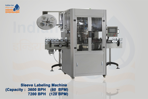 Sleeve Labelling Machine