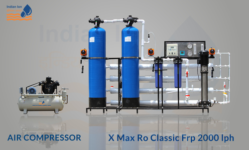 FRP RO Plant with Compressor