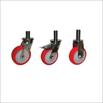 Heavy Duty Polyurethane Pin Type Wheel