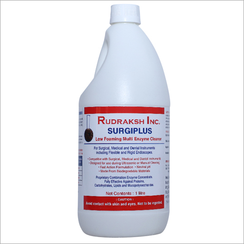 1 Ltr Surgiplus Low Foam Multi Enzyme Cleaner