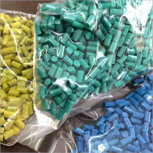 Coloured Reprocessed Granules
