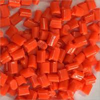 Red Plastic Granules