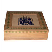Pine Wooden Designer Small Box