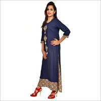 Double Layer Long Kurti