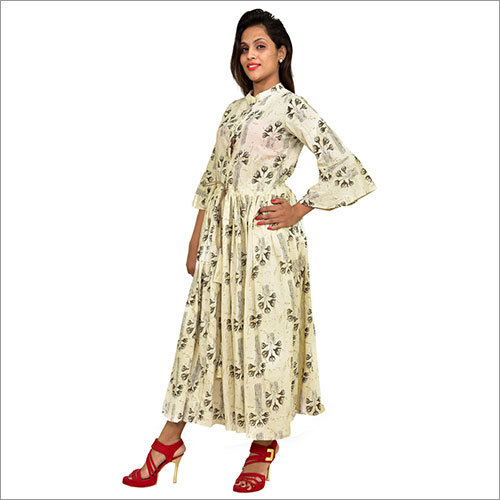 Designer Cotton Dress