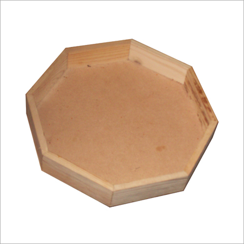 Dry Fruits Wooden Handicraft Tray