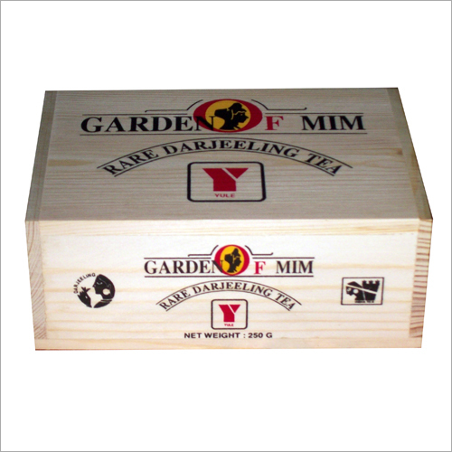 Wooden Tea Pack Box (250gm)