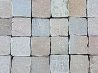 coloured Cobbles Paving Stone