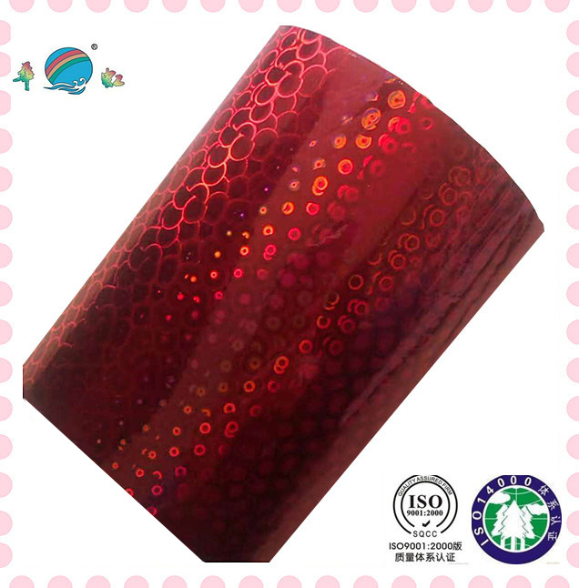 red hot stamping foil