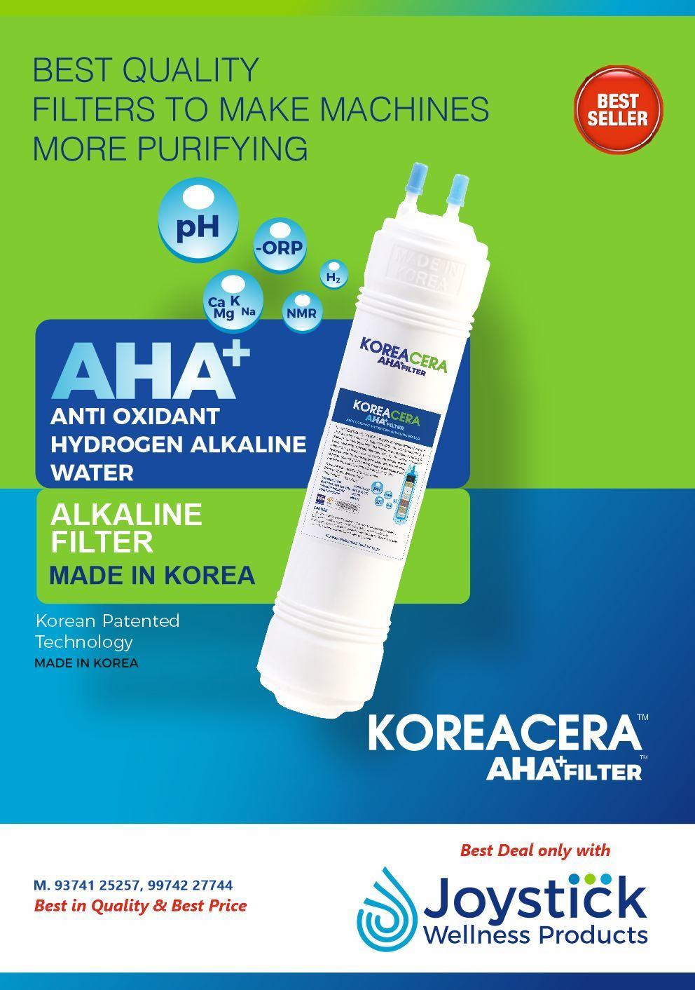 KOREACERA ANTIOXIDANT ALKALINE HYDROGEN WATER FILTER