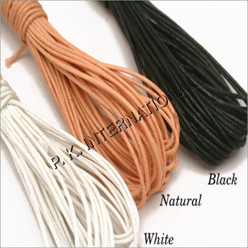 Braided Wax Cotton Cord