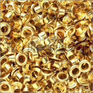 Brass Golden Eyelets