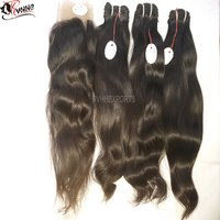 9a Premium Raw Indian Temple Hair Human