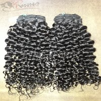 9a Premium Deep Curly Indian Human Hair Extension