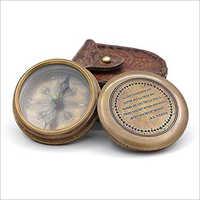 Antique  Poem Compass