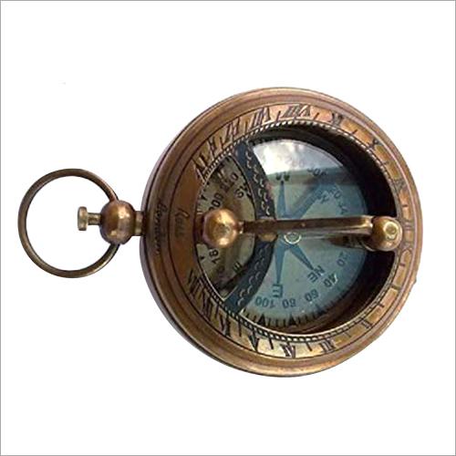 Brass Gimbal Compass