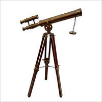 Brass antique Telescope with Stand