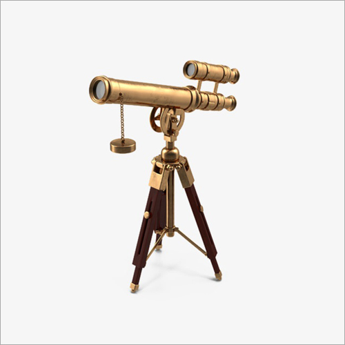 Brass Telescope Tripod