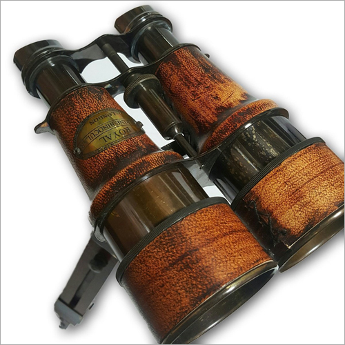 Antique Wooden Binocular