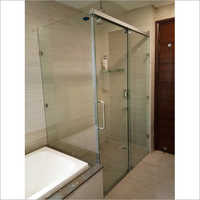 Transparent Glass Shower Enclosure