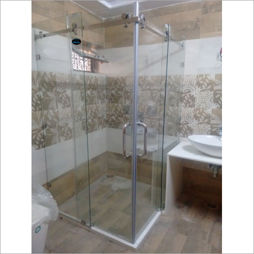 Rectangular Glass Shower  Enclosure