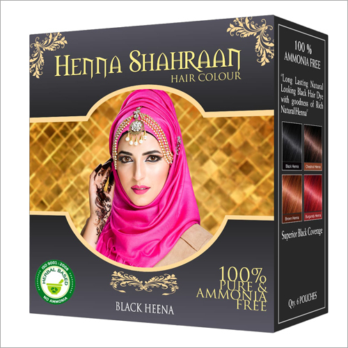 Natural Black Henna Hair Dye