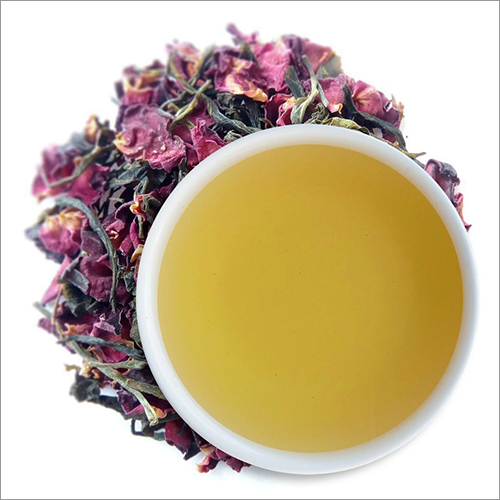 Organic Rose Green Tea