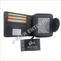 Mens Foldable Leather Wallet