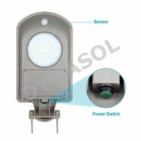 500 & 1000 Lumens Mini Series Fully Automatic All-In-One LED Solar Street Light