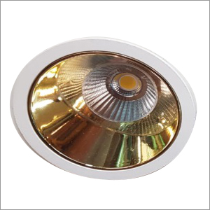 12w Gold Plated COB LED Light