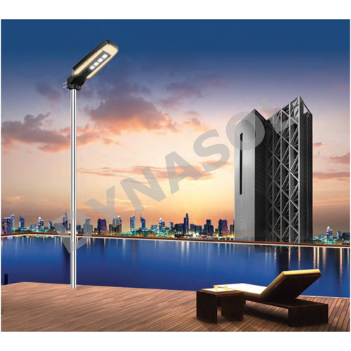 2500 Lumens Mini Series Fully Automatic Remote Controlled All-In-One LED Solar Street Light