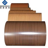 Wood Grain Coated Aluminum Coil For Ceiling
