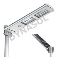 2000 Lumens Fully Automatic Remote Controlled All-In-One LED Solar Street Light