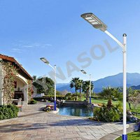 400-1200 Lumens Mini Series Fully Automatic All-In-One LED Solar Street Light