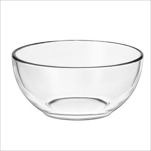 Transparent Glass Bowl