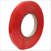 Red Double Sided Polyestor Tape