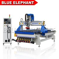Big Discount 1325 4*8 Feet Atc Cnc Wood Router Price For Carving Japan Kitchen Cabinet