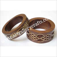 Carved Wooden Bangles