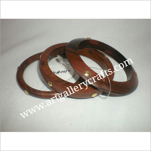 Wooden decorative Bangles