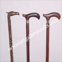 Wooden Designer  Walking Stick